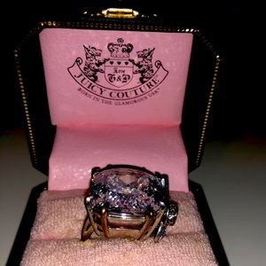 Big Juicy Couture costume ring. Size 10